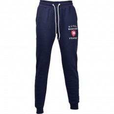 Pantalon jogging molleton France Rugby Warriors marine