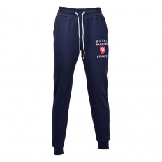 Pantalon jogging enfant molleton France Rugby Warriors marine