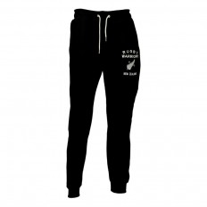 Pantalon jogging enfant molleton New Zealand Rugby Warriors noir