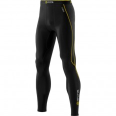 Legging A200 Thermal Compression Long Tights Skins noir jaune
