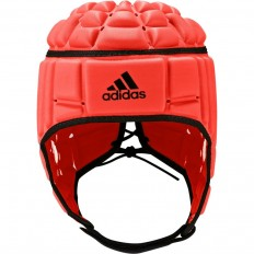 Casque rugby Adidas orange noir