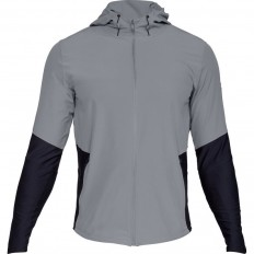 Veste capuche Vanish hybrid Threadborne™ Under Armour gris