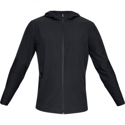 Veste capuche Vanish hybrid Threadborne™ Under Armour noir