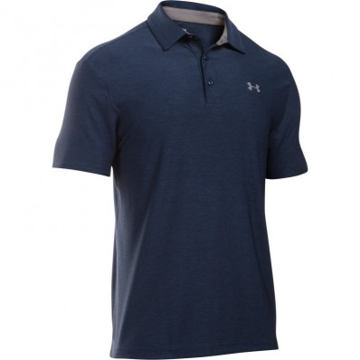 Polo homme UA Playoff Under Armour marine