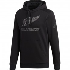 Sweat Hoody Supporter All Blacks 18 Adidas noir
