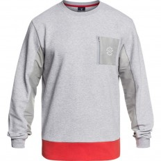 Sweat homme Midi Rugby Division gris chiné