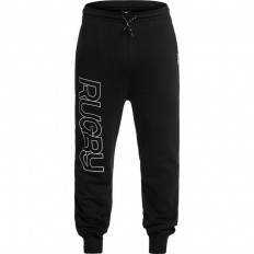Pantalon jogging Warm up Rugby Division noir