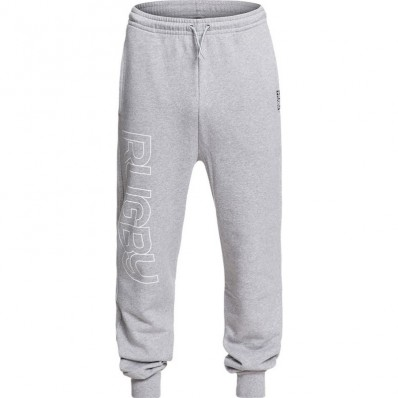 Pantalon jogging Warm up Rugby Division gris chiné