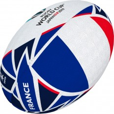 Ballon rugby Flag France RWC 2019 Gilbert