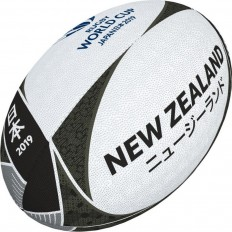Ballon rugby supporter New Zealand RWC 2019 Gilbert