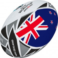 Ballon rugby Flag New Zealand RWC 2019 Gilbert