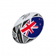 Mini ballon rugby Flag New Zealand RWC 2019 Gilbert