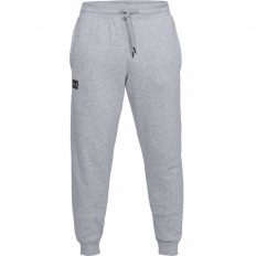 Pantalon Rival Fleece Jogger Under Armour acier chiné