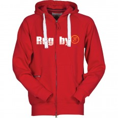 Sweat capuche zippé Trade R//S rouge