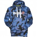 Hoody homme Trade R//S camouflage bleu