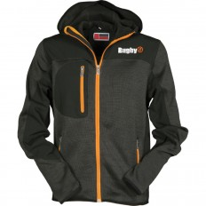 Veste Softshell homme Trip R//S acier chiné orange