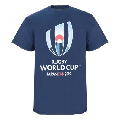 T-shirt enfant Logo Rugby World Cup Japan 2019 marine