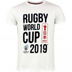 T-shirt homme Rugby World Cup Japan 2019 blanc