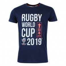 T-shirt enfant Rugby World Cup Japan 2019 marine