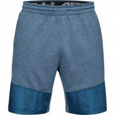 Short bermuda MK1 Terry Under Armour bleu pétrole