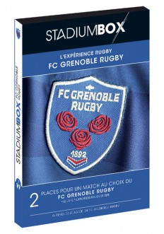 Coffret FC Grenoble Rugby StadiumBox