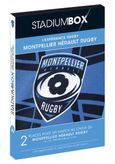 Coffret Montpellier Hérault Rugby StadiumBox