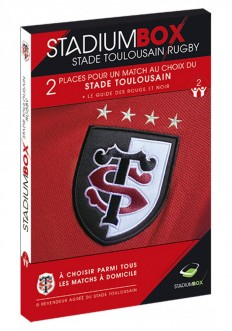Coffret Stade Toulousain Rugby StadiumBox