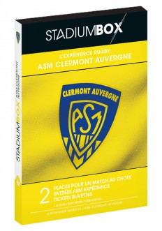 Coffret ASM Clermont Rugby StadiumBox
