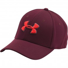 Casquette Blitzing II Under Armour rouge raisin rouge