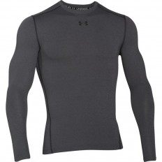 Tee shirt Crew Armour Compression ColdGear® LS Under Armour gris
