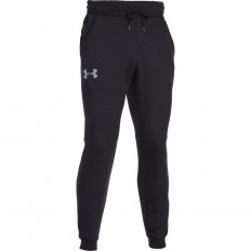 Pantalon Rival Fleece Coton Under Armour noir