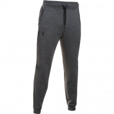 Pantalon Rival Fleece Coton Under Armour gris carbone