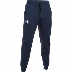 Pantalon Rival Fleece Coton Under Armour marine