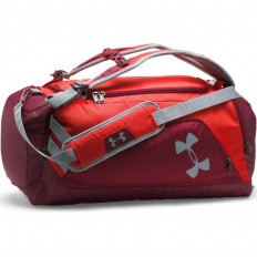 Sac Storm Undeniable Backpack Duffel 40 L Under Armour rouge gris