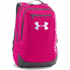 Sac à dos Hustle LDWR Under Armour fuschia gris