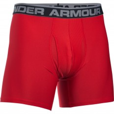"Boxer jock Original Series 6"" Under Armour rouge noir"