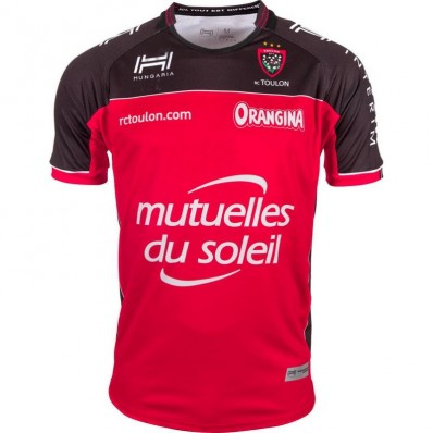 Maillot RCT Toulon domicile 2016-17 Hungaria rouge