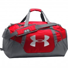 Sac Undeniable Duffel 3.0 60 L Under Armour rouge gris