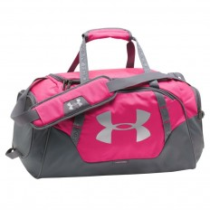 Sac Undeniable Duffel 3.0 40 L Under Armour rose gris