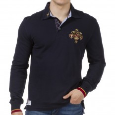 Polo homme Twickers Park The Crunch 77 Ruckfield bleu marine