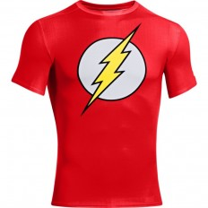 Tee shirt Alter Ego Flash Compression HeatGear® SS Under Armour rouge