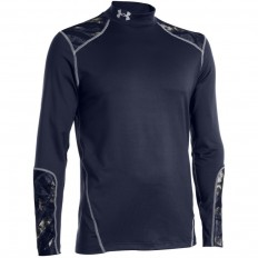 Tee shirt homme Evo ColdGear® LS Under Armour marine