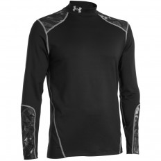 Tee shirt homme Evo ColdGear® LS Under Armour noir