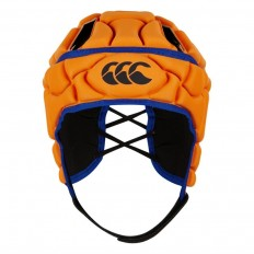 Casque enfant Club+ Canterbury orange bleu