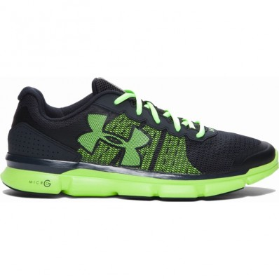Chaussures Micro G® Speed Swift Under Armour gris vert fluo