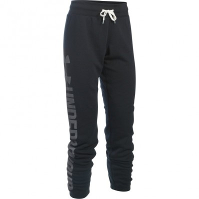 Pantalon femme Favorite Fleece Under Armour noir