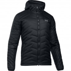 Veste à capuche Reactor ColdGear® zippé Under Armour noir