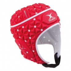 Casque enfant Ignite Gilbert rouge blanc