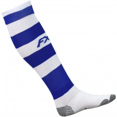 Chaussette rugby Stori FXV royal blanc