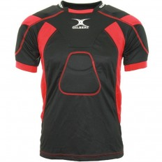 Epauliere rugby Atomic Zenon Gilbert noir rouge